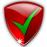 Red shield checkmark