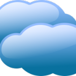 Web hosting - blue clouds