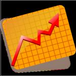 Up arrow graph