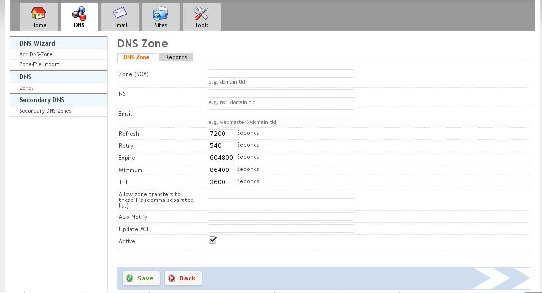 Screenshots of ISPConfig version 3 0 5 – VNKB com