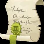 Script scroll